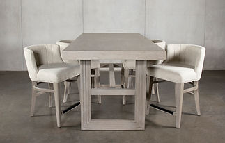 Riverside Dining Set Front View