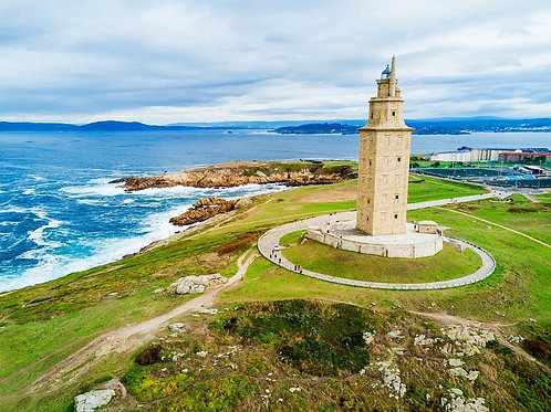 LA CORUÑA PANORAMIC TOUR WITH PHOTO STOP.