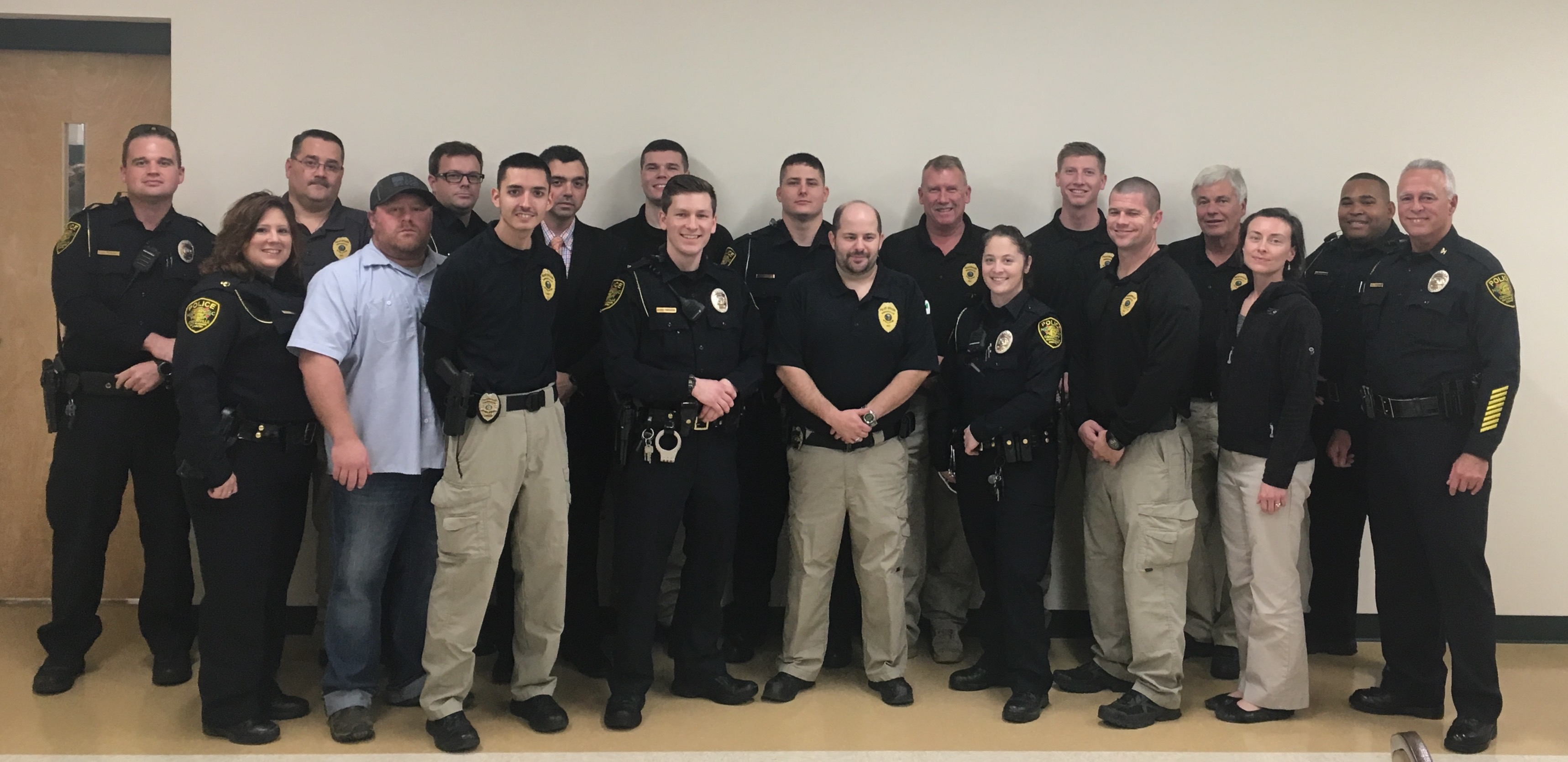 Gibsonville PD Staff