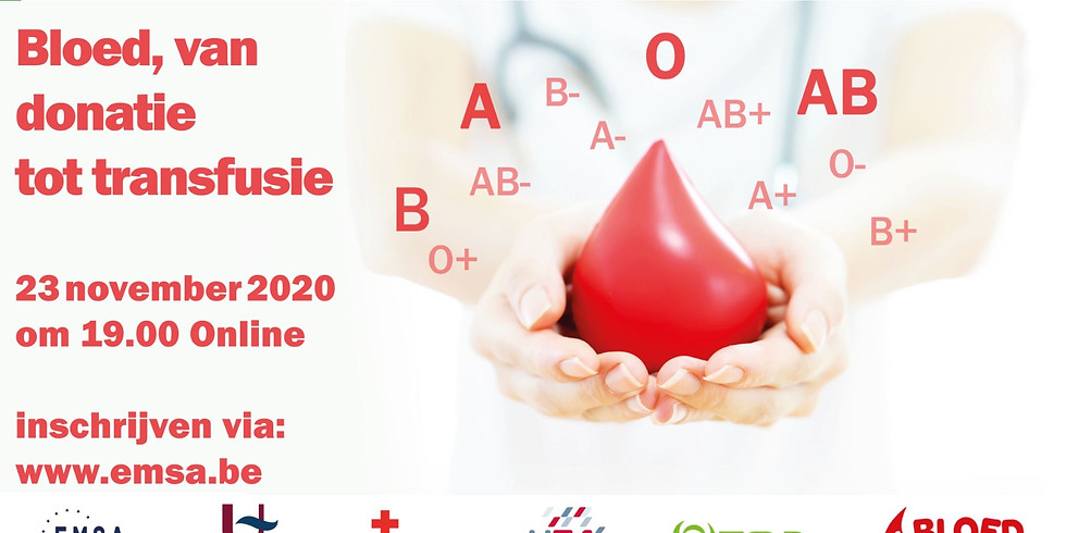Symposium Bloed: van donatie tot transfusie