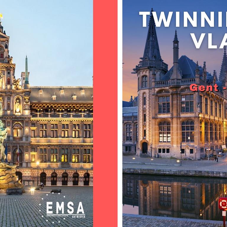 Twinning op Vlaamse Wijze - Antwerpen en Gent