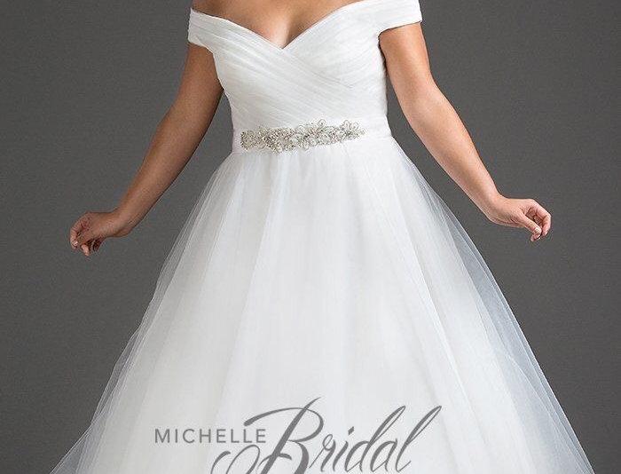 Michelle Bridal MB1812 - Gwenyth