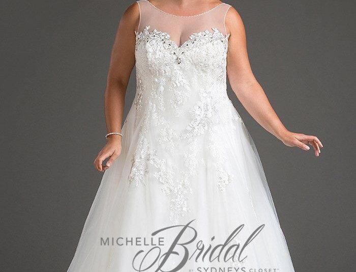 Michelle Bridal MB1806 -Aubrey