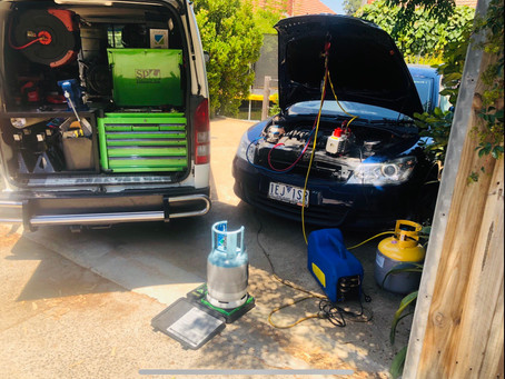 Air-Conditioning servicing on-site