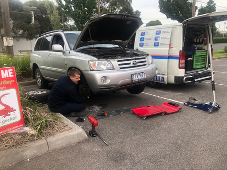 Service and brakes all round in Thomastown 3074