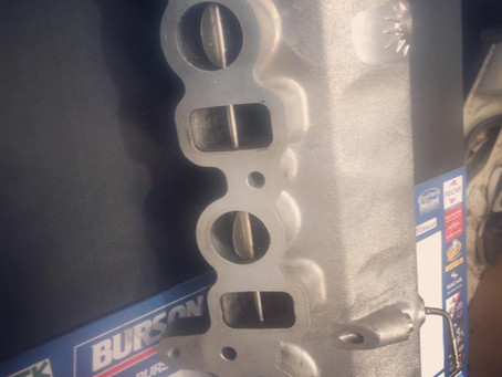 1KDftv Inlet manifold before and after cleaning