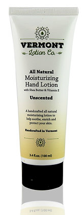 3.4 oz  Natural Unscented Hand Lotion