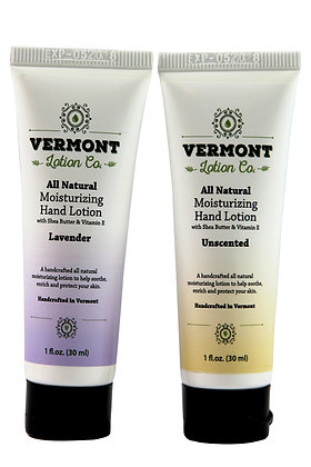 Variety Pack of 1oz All Natural Hand Lotion