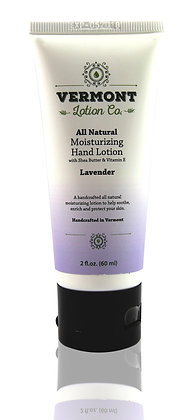 2oz All Natural Lavender Hand Lotion