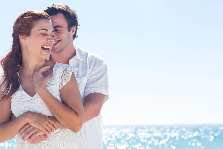 boyfriend and girlfriend happy feelings