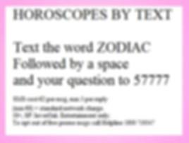 horoscope by text ireland