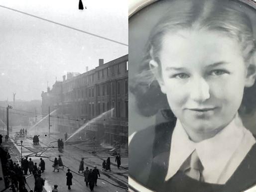 Joan Pelling: 'World War II on my doorstep'