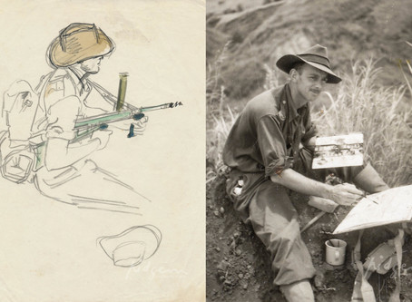 William Edwin Pidgeon: Sketching Battles of WWII