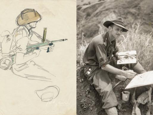 William Edwin Pidgeon: Sketching Battles of WWII