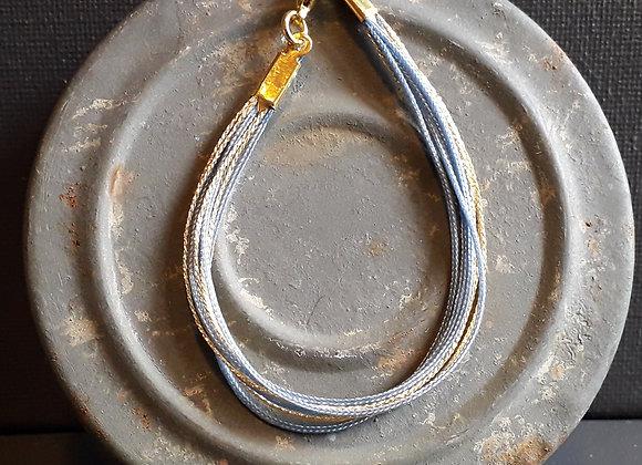 Bracelet Multiliens Ciel Doré