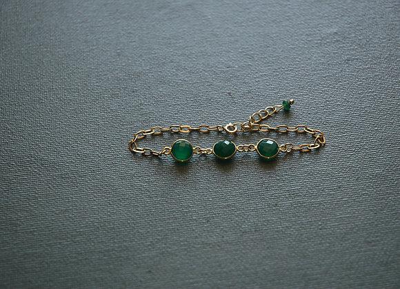 Bracelet Unique Vert