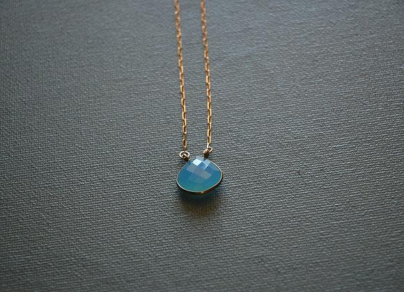 Collier Unique Bleu