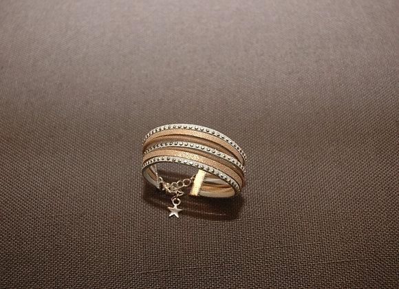 Bracelet Manchette Ines Bleu