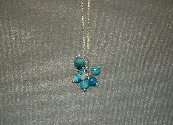 Collier Groseilles Turquoise