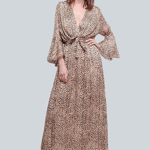 Kleid Animal Print