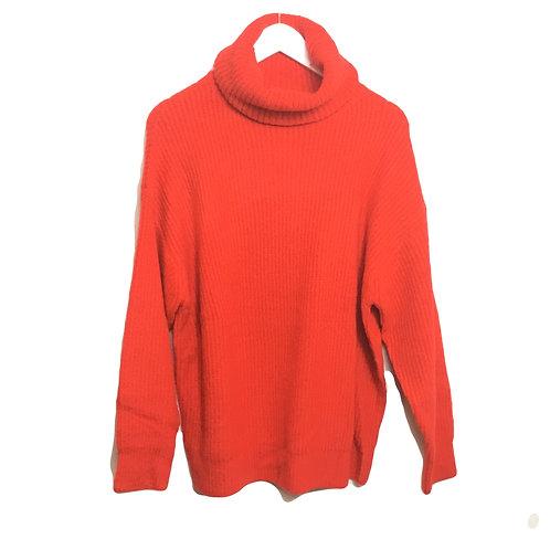 Pullover mit hohem Krage
