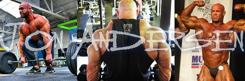 Jon Andersen, Deep Water Method, Bodybuilding Training, Badass Training Program