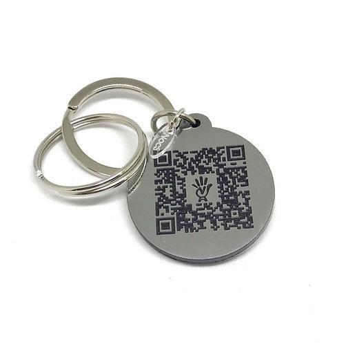 Portachiavi #QRcode