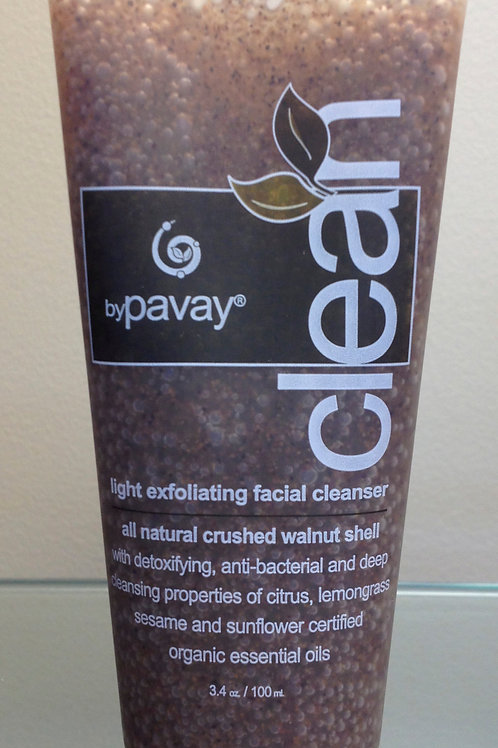 Pavay Clean® natural exfoliating cleanser