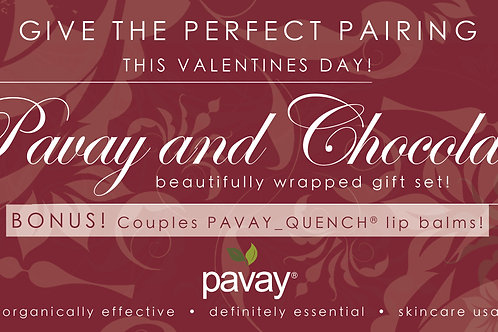 Pavay® and Chocolate Luxury gift package!