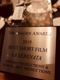Imagen Award Best Short Film Award