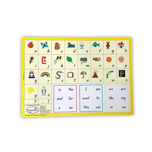 A3 Alphabet Card (reversible)