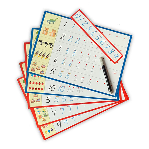 Numeral Cards Pack