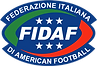 Logo Federazione Italiana di American Football - Fidaf