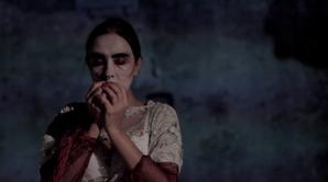 "Maya Petrovna during show ""Futura Monomania"""