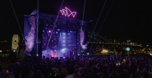 VIVID Festival at the Sydney Opera House
