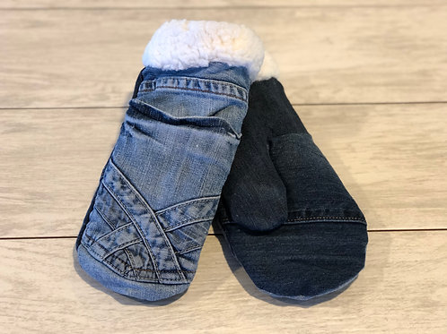 Adult Medium Jean Mittens