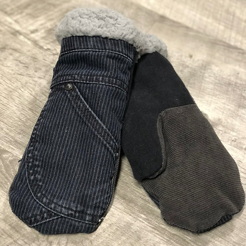 Adult Medium Jean/Corduroy Mittens
