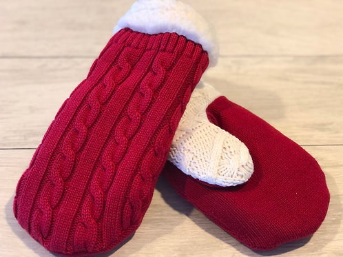 Adult Large Sweater Mittens