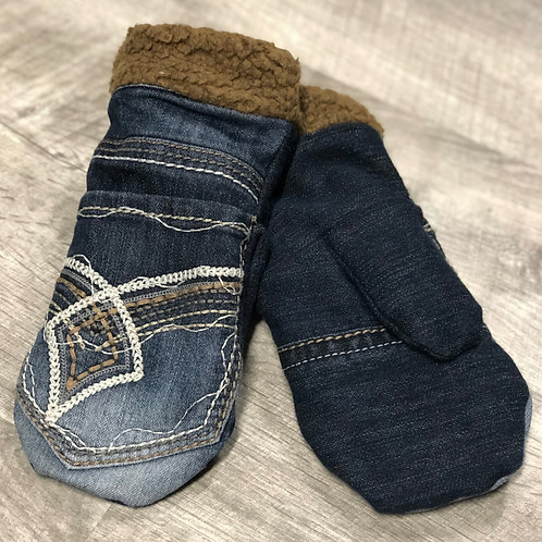 Adult Medium Jean Mittens