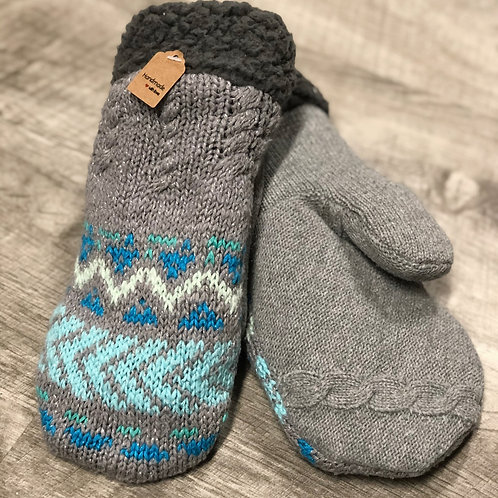 Adult Medium Sweater Mittens