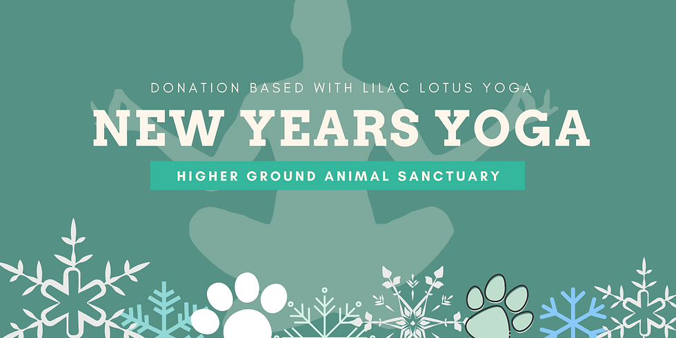 New Years Yoga at the Sanctuary 9-10AM