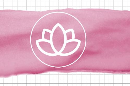 Super Soft Knit Logo Headband