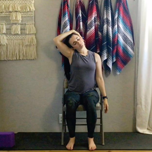 Chair Neck Stretch