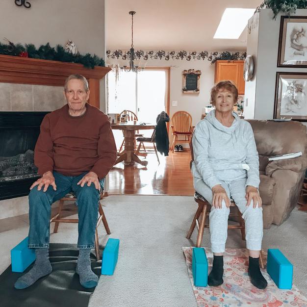 Senior Yoga: Chairs