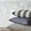 Thumbnail: 5 0 X 5 0 BEIGE & BLACK PATTERNED FEATHER CUSHION