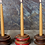 Thumbnail: RECLAIMED PULLEY CANDLE STICK