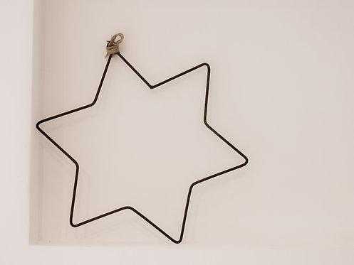HANGING METAL STAR
