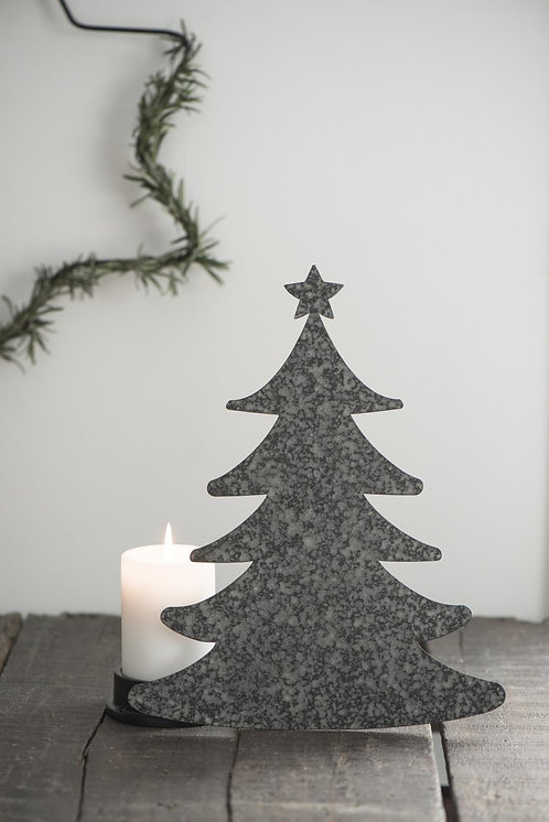 METAL STANDING CHRISTMAS TREE