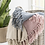 Thumbnail: PATTERNED PINK THROW