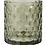 Thumbnail: GREEN GLASS TEA-LIGHT HOLDER